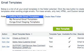 creating email templates salesforce ben