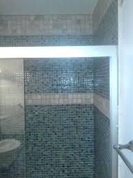 glass tile for bathrooms ideas blue glass tile shower mosaic tile bathroom blue mosaic tile