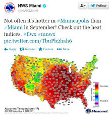 us dewpoint map monday meltdown msp hotter than miami cooling trend by late week