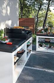 architecture modern completed outdoor kitchens design ideas a