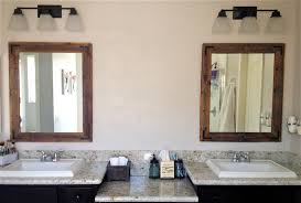 Wooden Bathroom Mirror by New Reclaimed Wood Bathroom Mirrors 54 For Your With Reclaimed