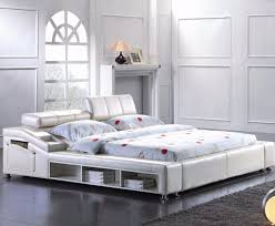 Bedroom Furniture Storage by Bedrooms Modern Eco Leather Red Bed Italian Modern Leather