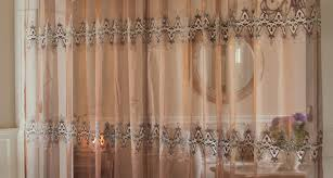 Luxury Linen Curtains Curtains Exquisite Red And Brown Sheer Curtains Amusing Brown
