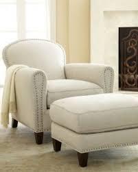 Living Room Armchair Linen Living Room Chair Foter