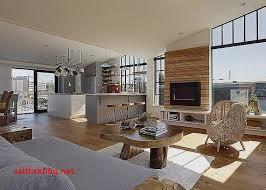aménagement salon salle à manger cuisine ilot avec table coulissante pour idees de deco de cuisine best of
