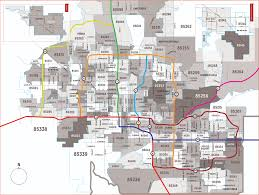 Zip Code Map Orlando by Phoenix Zip Code Map Zip Code Map