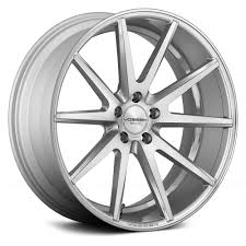 lexus rims with tires vossen vfs1 wheels silver with brushed face rims