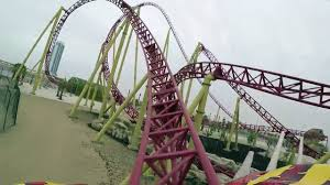 Six Flags Agawam Mass The Joker Roller Coaster Pov Six Flags New England New For 2017