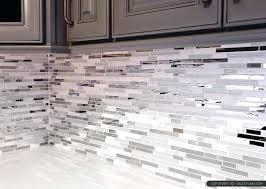 glass kitchen tiles for backsplash gray and white backsplash modern white marble glass metal kitchen
