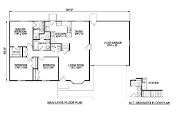 2 Bedroom Floor Plans Ranch by Ranch Style House Plan 3 Beds 2 00 Baths 1200 Sq Ft Plan 116 290