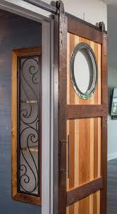 Sliding Barn Doors For Closet by Barn Door Closet Cubby R Mended Metals Llc