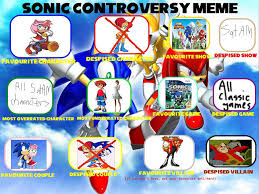 Sonic Meme - hozupindahows00s sonic controversy meme by hozupindahows00s on