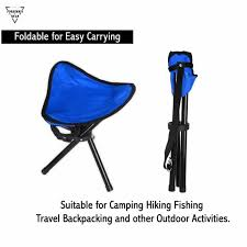 buy forbidden road camping stool portable seat tripod stool chair