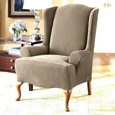white wing chair slipcover wingback recliner slipcover windhorsefilm com