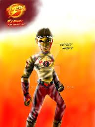 the flash fan art kid flash fan concept art for the flash cw by thedjart on deviantart