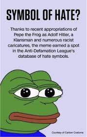 Hate Meme - pepe the frog irony and hate speech extra newsfeed