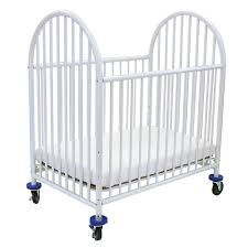 Folding Mini Crib by L A Baby 24