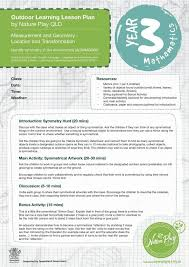 lesson plan template qld 13 best outdoor learning primary lesson plans images on pinterest