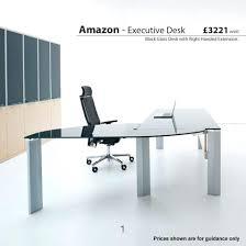 black glass corner desk office design glass desk for home office glass cover for office