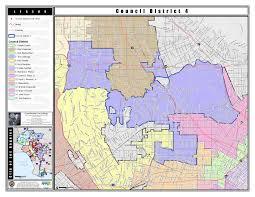 San Jose District Map by The District David Ryu For La City Council District 4