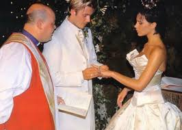 beckham wedding dress david and beckham celebrate 18th wedding anniversary