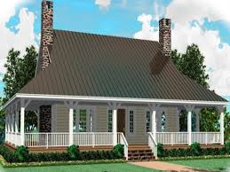 one story country house plans with wrap around porch cool design