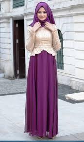 Baju Muslim Brokat model baju muslim brokat kombinasi satin terbaru 2018 model baju