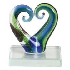 new zealand mini glass ornaments silverfernz