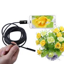 2in1 6led micro usb endoscope waterproof inspect borescope camera