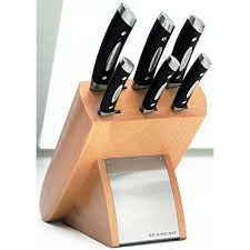 Furi Kitchen Knives Scanpan Classic Euro 7 Piece Knife Block Set For 149 00