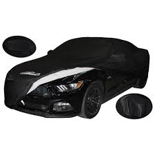 Mustang Car Black Coverking Cvc3ss95fd9772 Mustang Cover Satin Stretch 2015 2017