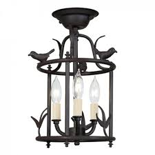 Flush Mount Cage Light Mount Bird Cage Lantern Also Available Hanging
