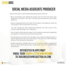 Seeking Genre Endemol Shine Au On Seeking A Social Media Associate
