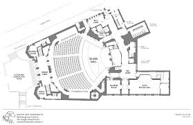 center colonial floor plans technical drawings maltz performing arts center western