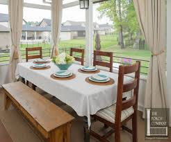 porch company unique design features the porch companythe porch porch screened beadboard curtains dining har 13