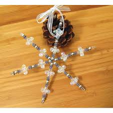 decoration snowflake ornament kit chinaberry