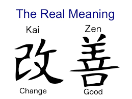 the meaning of kaizen