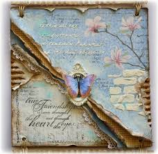 tutorial scrapbook card 921 best mixed media canvasses art journals scrapbook pages