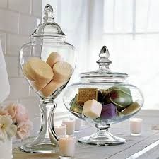 bathroom apothecary jar ideas filling up the apothecary jar ideas and inspiration bathrooms