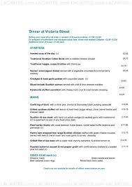 2 of 8 price lists u0026 menus u2013 howies restaurant victoria street