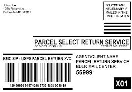 domestic mail manual g993 parcel return services
