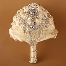 Silk Wedding Flowers Aliexpress Com Buy Handmade High Quality Wedding Bouquet Bridal