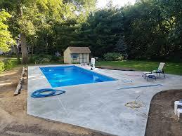 Backyard Pool And Basketball Court Akins Pools 257 Photos Demolition U0026 Excavation Company 54095