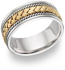 two tone mens wedding bands two tone wedding bands for men applesofgold