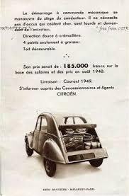 siege 2cv occasion citroën a series brochure 1965 citroen