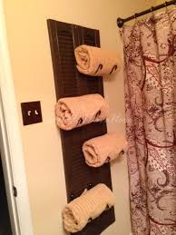 16 awesome diy towel holders to spruce up your bath regarding awesome house towel rack ideas for bathroom decor