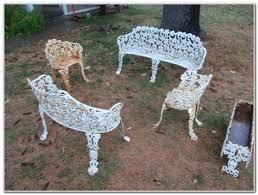 Antique Wrought Iron Outdoor Furniture by Homecrest Patio Furniture Garden Hckashdin11 Zm Kashton Sling