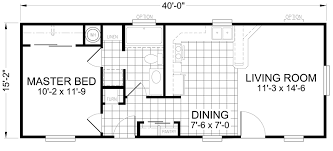 800 Square Foot House Plans Little House On A Trailor 16 X 40 Floorplan Tiny Living