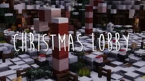 minecraft map christmas lobby free download truuz