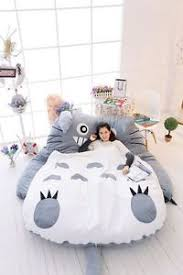 giant big single totoro cartoon bed mattress large bean bag